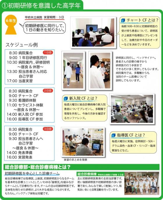 実習プログラム例1-1