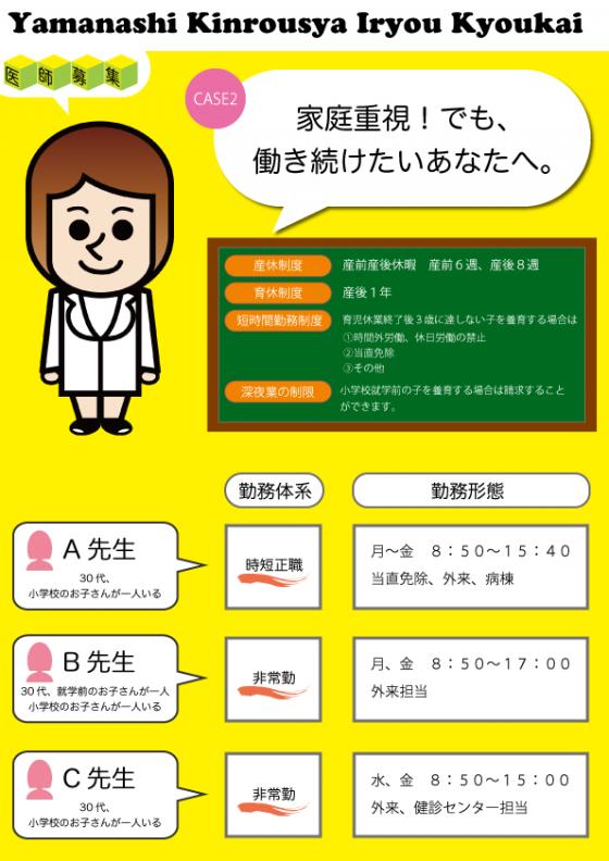 ママドクター募集HP CASE2