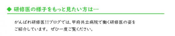 95_がんばれ研修医紹介